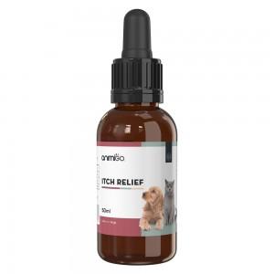 Juckreiz Linderung für Katzen & Hunde - Premium Natur Allergiehilfe für Haustiere - 50ml Tropfen